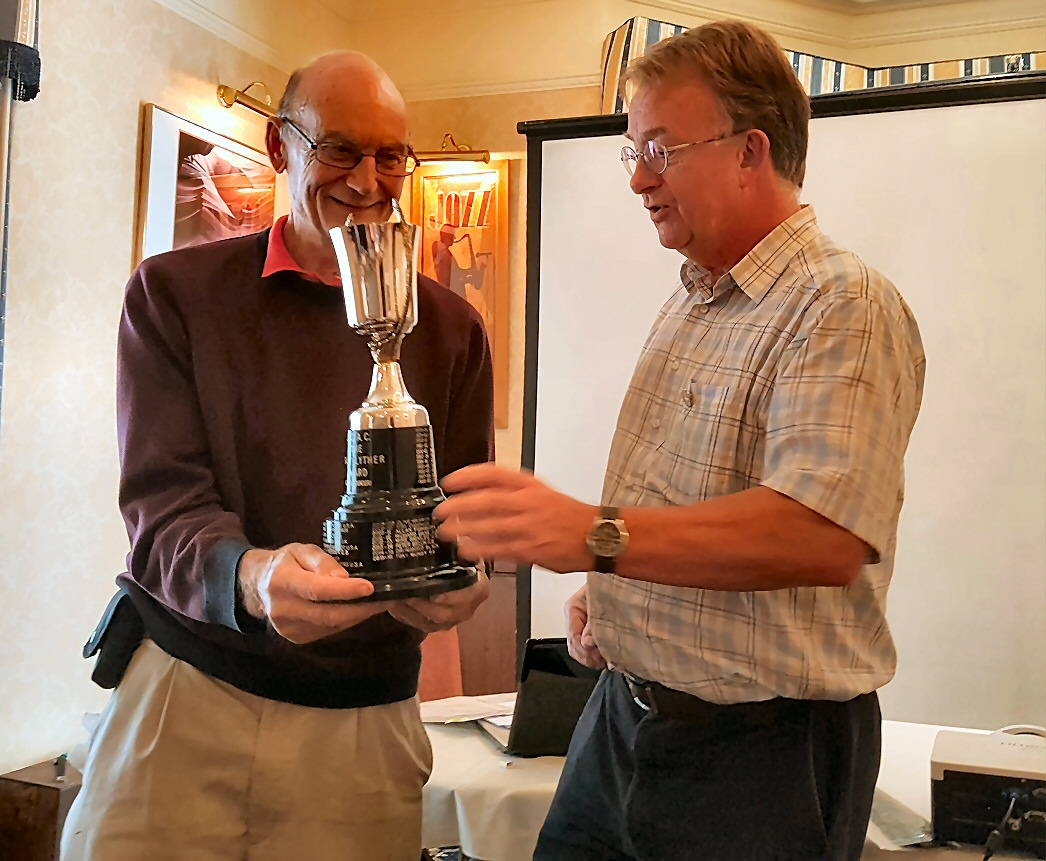 Nankivell gets trophy for book