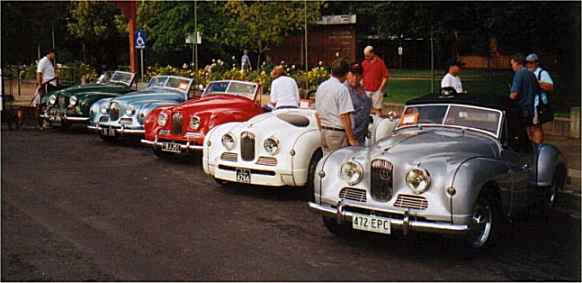Jowett Jupiter line-up