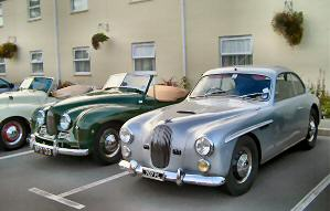 Jowett Jupiter, two, one with special body 3