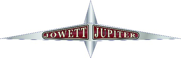 Jowett Jupiter bonnet badge