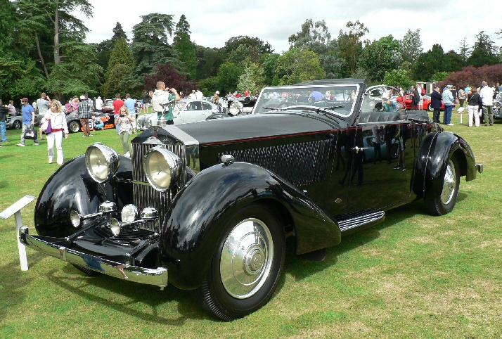 Rolls Royce with French coachwork
